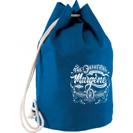 SAC MARIN COTON LOGO THE ORIGINAL ROYAL BLUE
