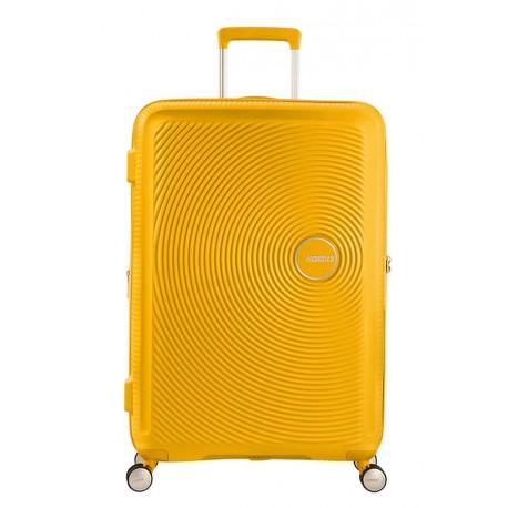 AMERICAN TOURISTER SPINNER 67 EXTENSIBLE 88473 SOUNDBOX GOLDEN YELLOW
