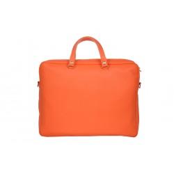 Mistral Cartable en cuir Coloris Naranja Grainé