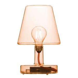 FATBOY LAMPE SANS FIL RECHARGEABLE TRANSLOETJE ORANGE