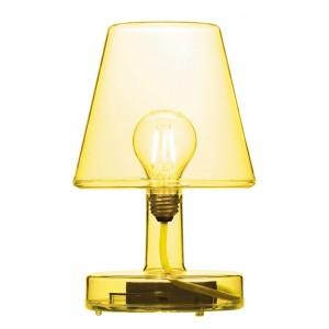FATBOY LAMPE SANS FIL RECHARGEABLE TRANSLOETJE TRANSPARENT